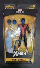 Marvel Legends Nightcrawler X-Force BAF Wendigo Wave Action Figure. New