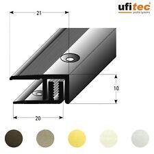 ufitec-TPL Laminat u. Parkett Profil für Belagshöhen von 7-15 mm / Länge: 270 cm