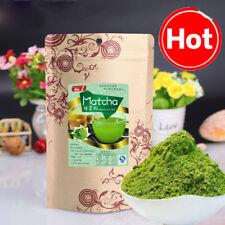 100g Japanese Green Tea Matcha Powder Natural Organic Slimming Tea GREEN FOOD