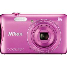Nikon COOLPIX S3700 Digital Camera (Pink) #26476 BRAND NEW!!