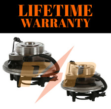 New Wheel Hub & Bearing Assembly Front Pair Set For 06-10 Mountaineer Explorer