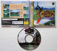 WORLD CUP GOLF sur Sega SATURN