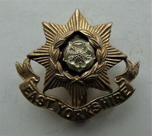 British Army East Yorkshire Regiment Cap Badge - Birmingham Mint