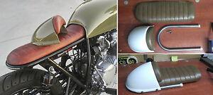 Cafe Racer Seat Removable Cowl Hump KIT CB550 CB750 CB350 Bratstyle Yamaha Honda
