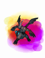 Ultra Pokemon Sun and Moon Year of the Legendary 2018 Zekrom 6IV-EV Trained
