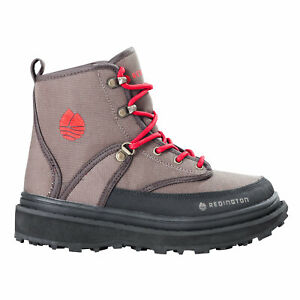 Redington Crosswater Youth Wading Boot Fly Fishing - Sticky Rubber Sole Bark 2K