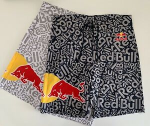 (2) RED BULL ATHLETE ONLY SWIM BOARDSHORTS - BUNDLE - SUMMER - SHORTS - HAT