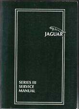 Jaguar XJ6 & XJ12 Series 3 ORIGINAL SERVICE MANUAL (atelier) Pub. No. AKM 9006