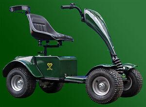 Grasshopper Cobra Single Seat Electric Golf Buggy