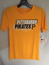 Pittsburgh Pirates MLB Moisture Wicking Youth Medium 10/12 Shirt NWT