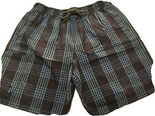 Men's Marks And Spencers M&S Blue Harbour Swim Shorts Size L Large