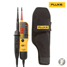 Genuine Fluke T110 Voltage & Continuity Tester+H15 Holster Custodia 2019 Edition