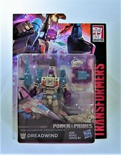 TRANSFORMERS: GENERATIONS POWER OF THE PRIMES DELUXE CLASS DREADWIND FIGURE
