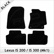 Lexus IS 200 300 Mk1 1999-2005 Tailored Carpet Car Floor Mats BLACK