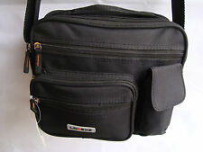 Messenger Bag with Shoulder Strap and Handle Unisex Ideal for camera and travel