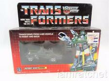 Transformers Original G1 1984 Hound Complete w/ Box Bubble Sealed Weapons