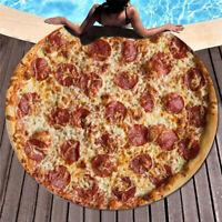 Tortilla Blanket Burrito Pizza Blanket -Corn and Flour Tortilla Throw 152CM Hot