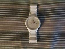 Rado True White Ceramic Ladies Watch with Diamonds R27061712