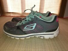 Ladies Skechers Go Walk Flash Tennis Shoes size 6 gray