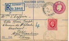 S1679 - GRANDE BRETAGNE - 1 Enveloppe Recommandée 1935