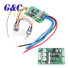 DC 12V-36V 500W High Power Brushless Motor Controller Driver Board Assembled