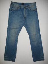Paul Smith Button-Fly - Mens Blue Denim Jeans - Waist 32 Leg 32