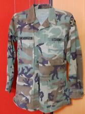 Genuine US Army Camo Jacket-Size Small