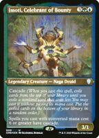 MTG Commander Legends *FOIL-ETCHED* U Imoti Celebrant of Bounty #600