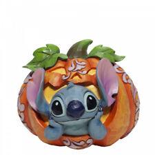 More details for disney traditions stitch o lantern halloween pumpkin figurine 6007080 new