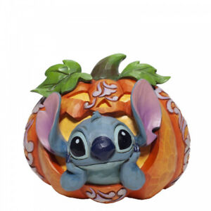 Disney Traditions Stitch O Lantern Halloween Pumpkin Figurine 6007080 New