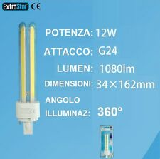 Lampada LED G24, bianca,bianco freddo,lampadina caldo calda 6000-3000K faretto