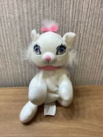 Disney Store Beanbag Plush Soft Toy Collectable Aristocats Marie 7 Inch Rare