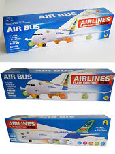 New Kids/Child Electric A380 Aeroplane Model With Lights & Sounds Toy UK Seller