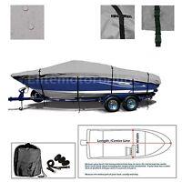 Tahoe Q6 Sport I/O Trailerable Fishing Boat Cover grey