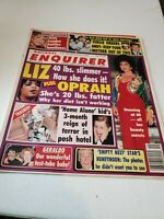 National Enquirer 5/12/1992 Liz Taylor Macaulay Culkin Barbara Bush Barry Gibb