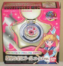 Sailor Moon 20th Starry Sky Orgel Gold Star Locket Music Box Bandai 2015 Mint