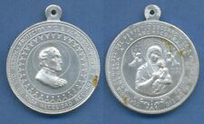 *RELIGION St. ALFONSO Our Lady Perpetual Helps Old alluminium medal