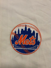 New York Mets Logo MLB Baseball Hat Shirt Jacket Jersey Embroidered Sleeve Patch
