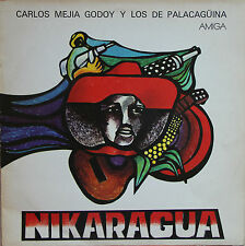 """Vinyle 33T Carlos Mejia Godoy y los de Palacaguina """"Nikaragua"""""""