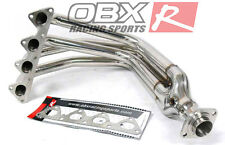 OBX Exhaust Header Manifold FITS 1999-2000 Civic Si 1993-1997 Del Sol 16L DOHC