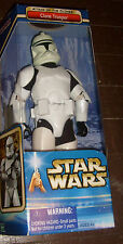 """STAR WARS CLONE TROOPER 12"""" DELUXE HIGH GRADE BOXED FIGURE MISB S/H $4.99"""