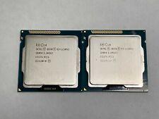New listing *Qty 2* Intel Xeon Sr0P4 E3-1230 V2 3.30Ghz 8Mb L3 Lga1155 Quad Core Processors