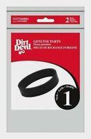 2pk Dirt Devil Vacuum Belt STYLE 1 Handhelds Rubber Replacement Part 3157260001