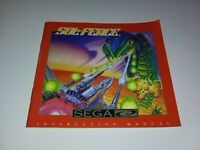Sol-Feace SEGA CD Manual Only VERY FAST SHIPPING