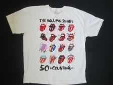 ROLLING STONES 2013 50th Anniversary WORLD TOUR Concert Shirt TEE T-Shirt XXL