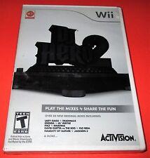 DJ Hero 2 Nintendo Wii Game Only *Factory Sealed! *Free Shipping!