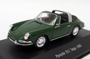 Atlas Editions 1/43 Scale 7 114 008 - 1965 Porsche 911 Targa - Green