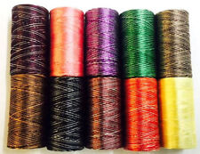 New Rayon Machine Embroidery 100% Variegated Thread All Demanding Colours Spools