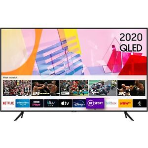 """Ex Display - Samsung 55"""" 4K Ultra HD HDR10+ Smart QLED TV with Adaptive Sound"""