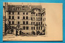 2 AK Luzern 1900 Hotel des Balances Kutsche Gasthaus Geschäft Architektur Gebäud